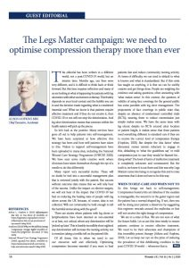 Picture of Article on optimising compression therapy